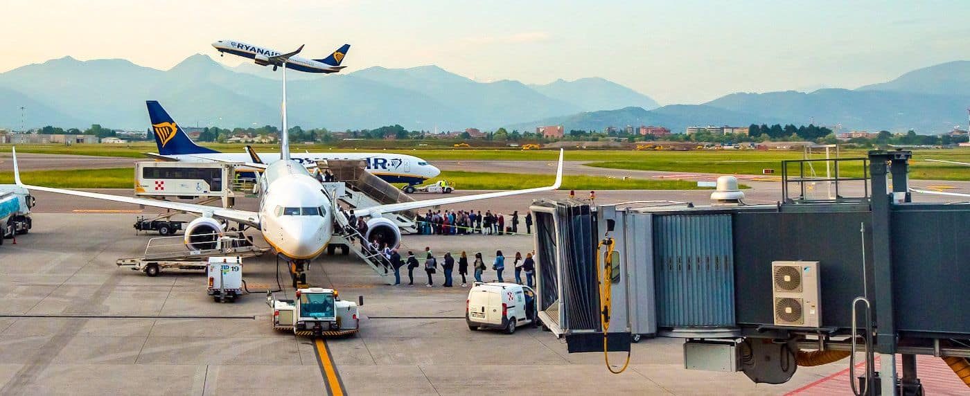 Bergamo Airport flight
